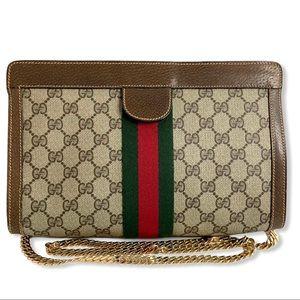 Gucci Web Clutch Crossbody bag